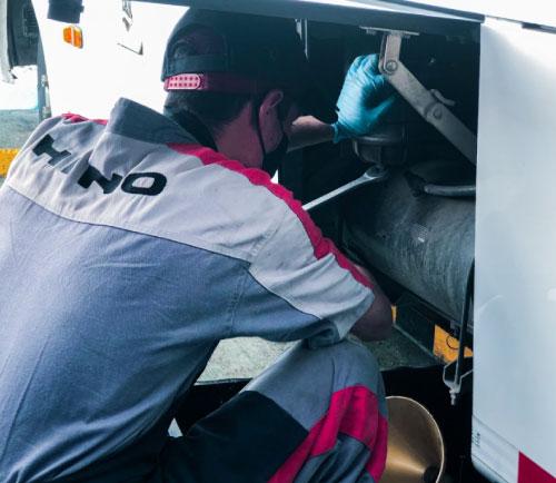 En Autoamérica encuentra servicio de mecánica general para tu Hino en Medellín